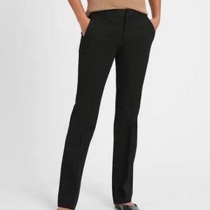 Banana Republic Logan Fit Black Dress Pants SZ 10L